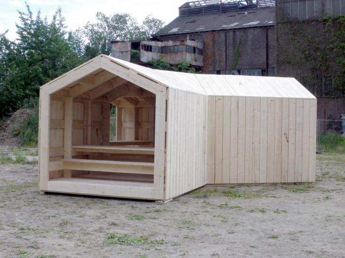 Paviljoen Timmerfabriek Maastricht Hupkens Maurer