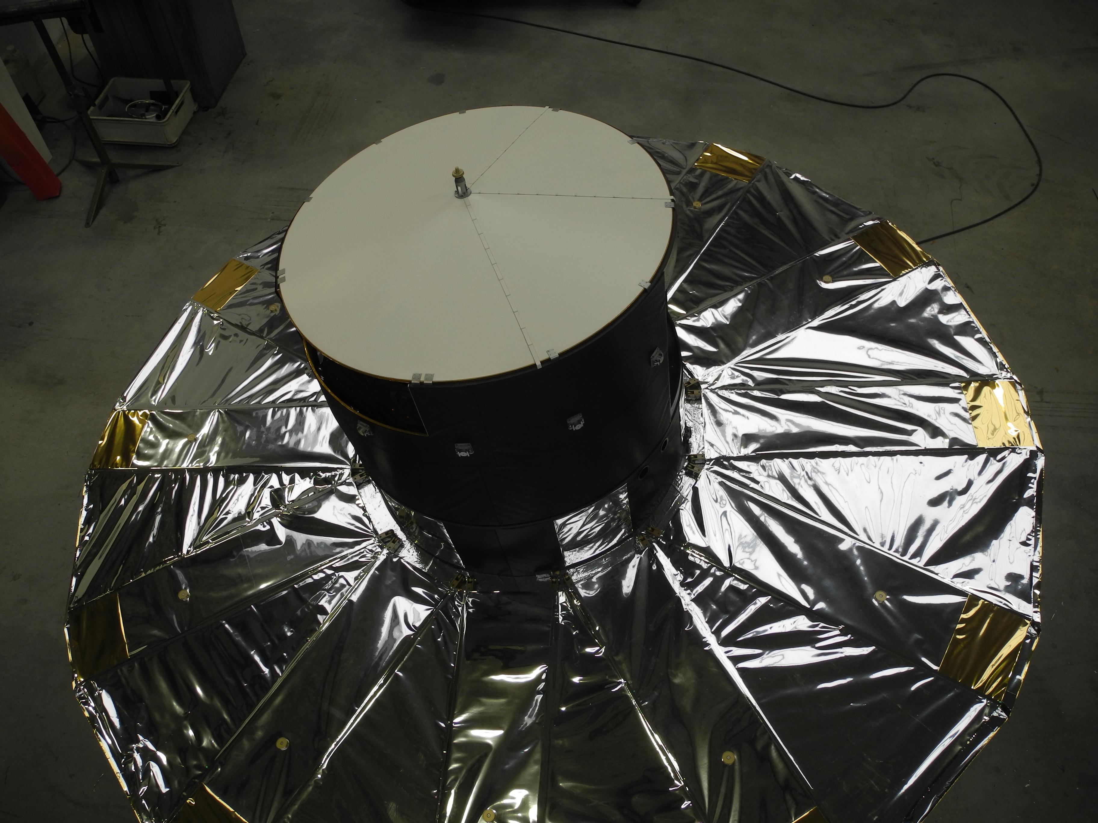 Gaia 1:4 space satellite model