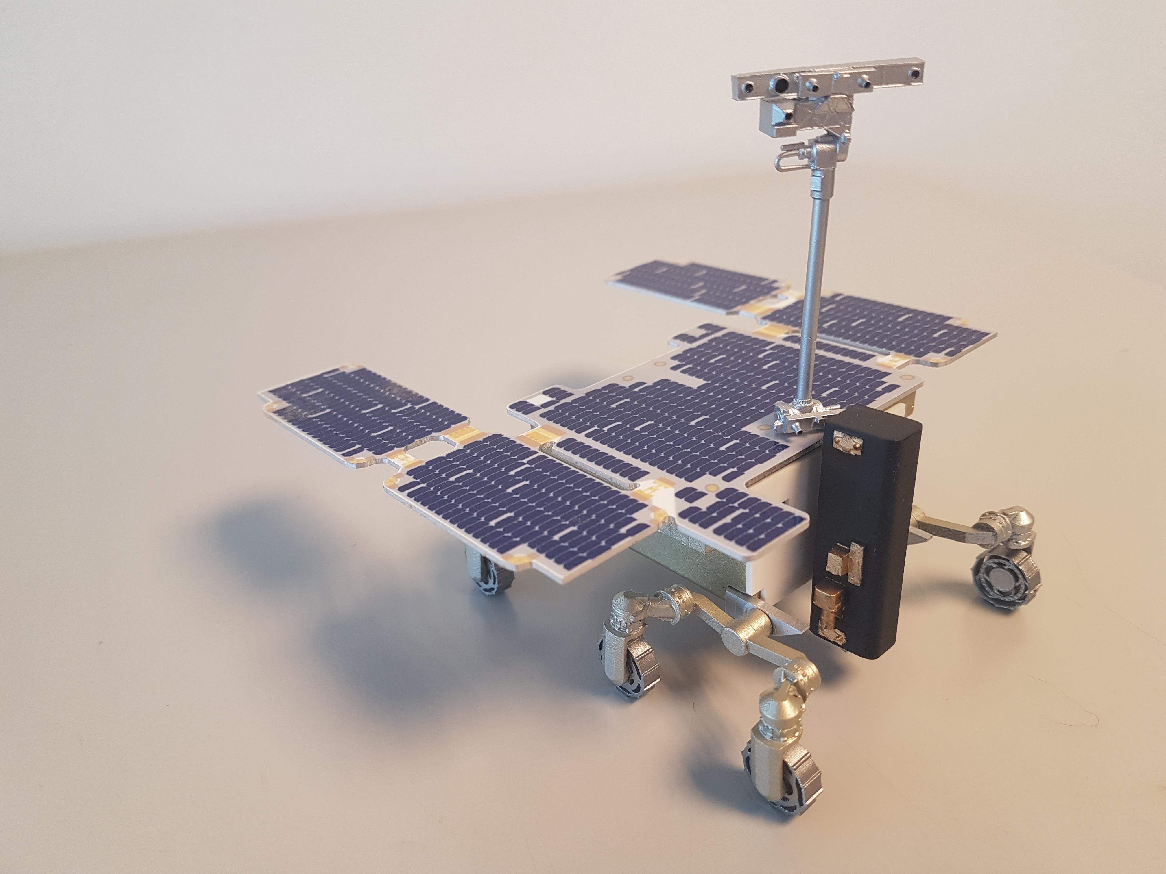 Exomars Rover 1:20 space model 3D printed